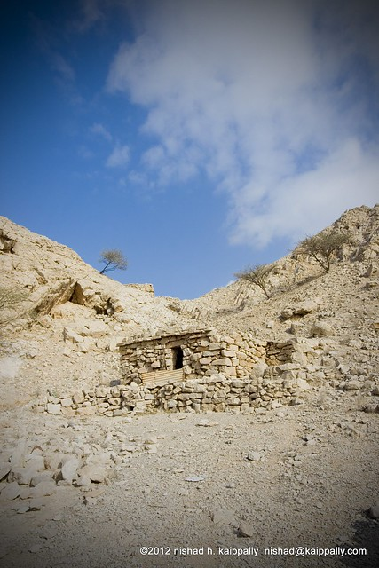 Stone house on the Mountain, Wadi Bih RAK