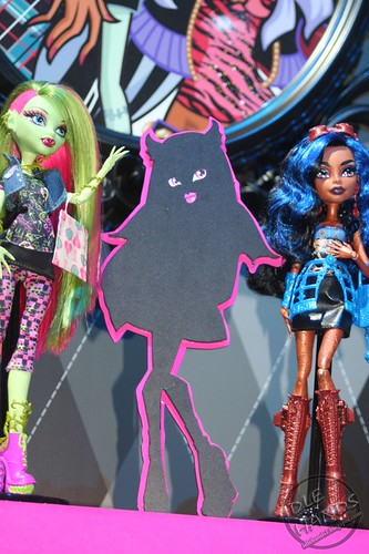 Toy Fair 2012 Monster High 41 Mystery Doll!