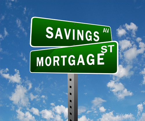 sasvings and mortgage