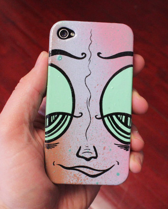 Handpainted iPhone Case