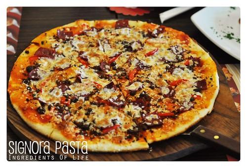 Pizza signora pasta