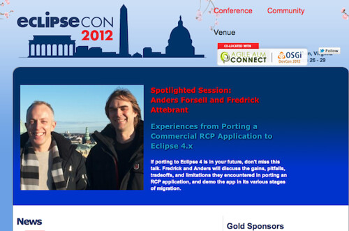 EclipseCon2012 Cover