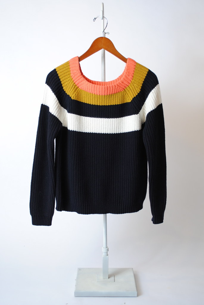 Carrie Bold Stripe Sweater
