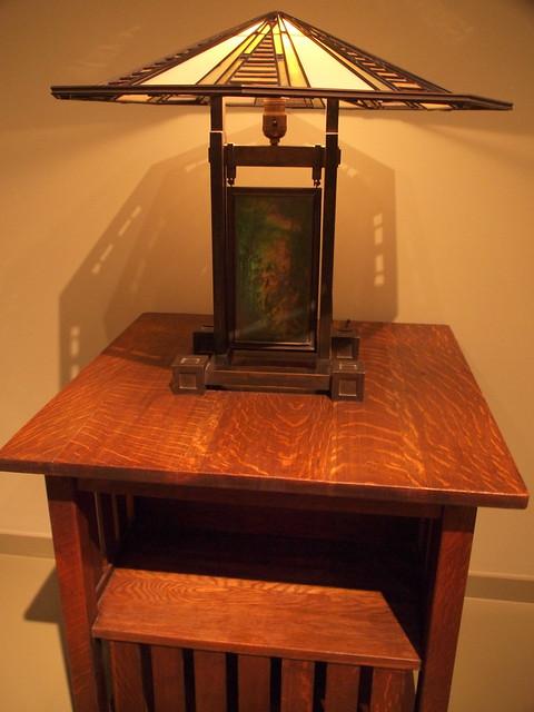 frank lloyd wright lamp stickley table some highlights fr. Black Bedroom Furniture Sets. Home Design Ideas