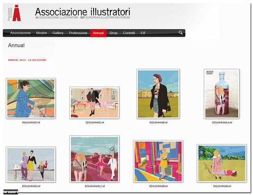 Nerosunero in the Annual of Associazione Illustratori by nerosunero
