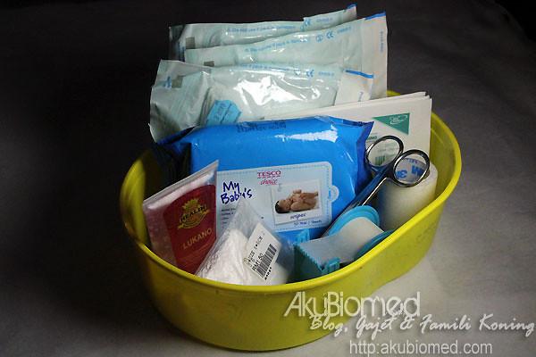 Bekas untuk bahan dressing bagi merawat luka