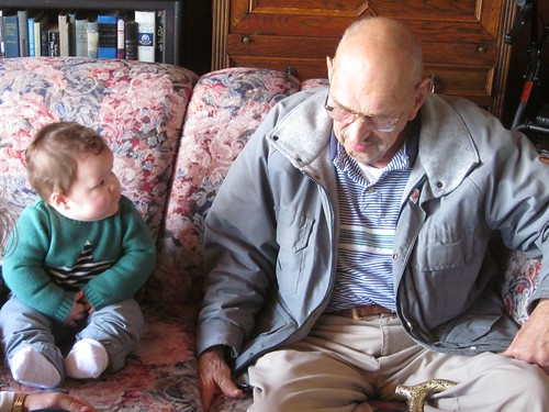 Tycho and his great grandpa