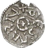 Charlemagne Denarius reverse