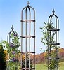 Metal obelisks