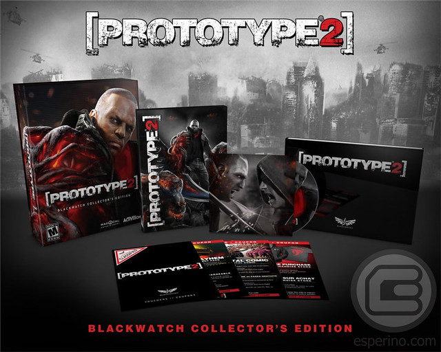 Prototype 2 Blackwater Collector's Edition