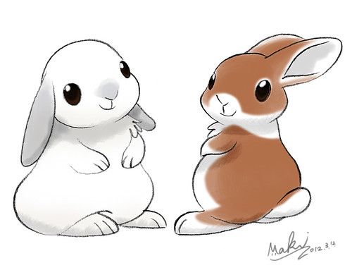 bunnies by kuro-risu