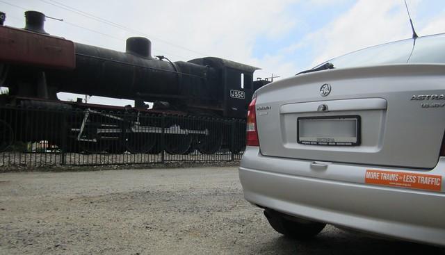 Steam engine, Warragul