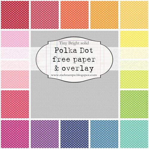 PREVIEW tiny polka dot A bright solid