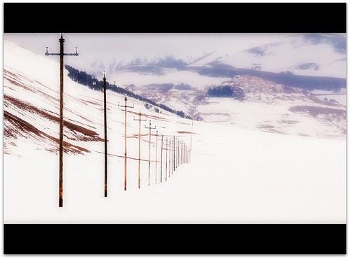 """Monte Bianco dal libro """"Giorno per giorno, l'avventura"""" di Walter Bonatti"""