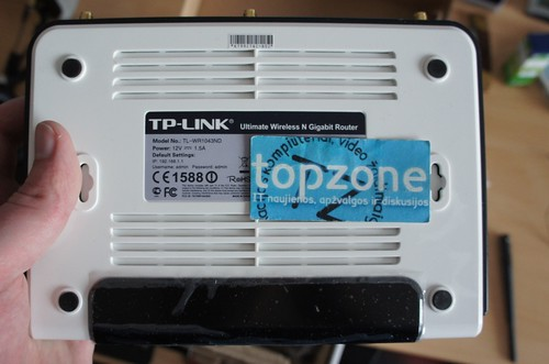 TP Link TL WR1043ND SamKnows Whitebox hackinimas