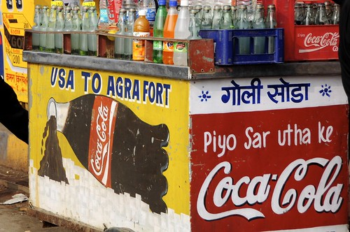 Coca Cola - from USA to Agra by Saumil U. Shah