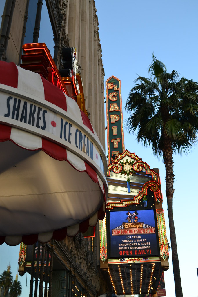 El Capitan Theatre and Soda Fountain