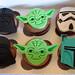 Caja Cupcakes Figuras STAR WARS