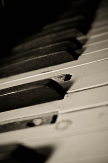 Keys of a Piano