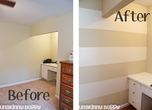 Time Saving Tips For Painting Wall Stripes A Step By Step