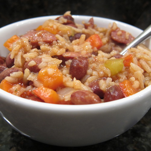 Red Beans, Chorizo & Rice