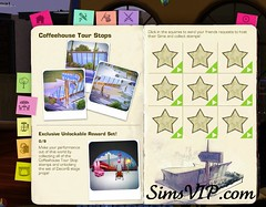 Host Sims Coffeehouse Venue - Reward