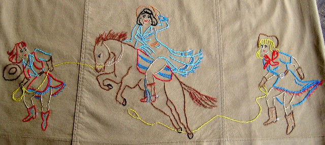 Embroidered Cowgirl Dress