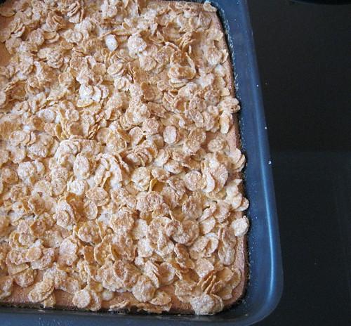 mısır gevrekli yağlı kek