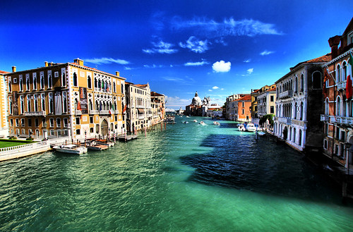 Colorful Grand Canal
