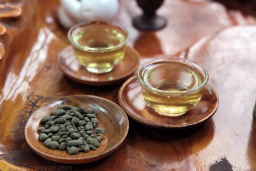 Lychee-flavored Tea
