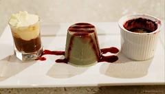 20120407-88-Coffee cheesecake, liquorice semifreddo and berry crumble at The Banc in Swansea