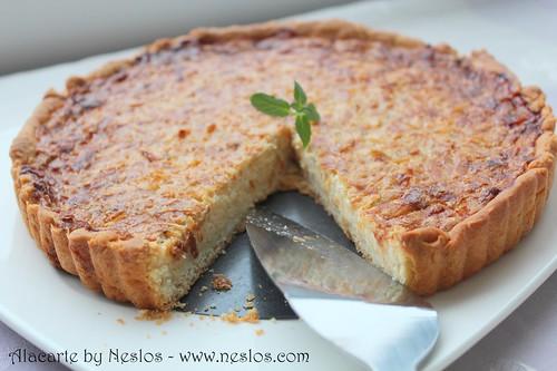 Peynirli ve soğanlı kiş
