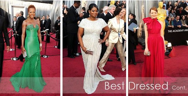 Oscars 2012 - best dressed 2