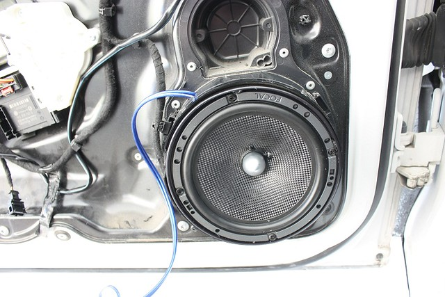 Vwvortex Com Diy Speaker Replacement And Dynamat Install