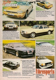 Fibersports Bodykits Advert 1990