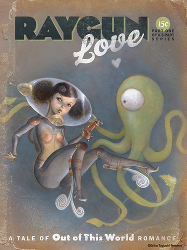 Raygun Love cover design