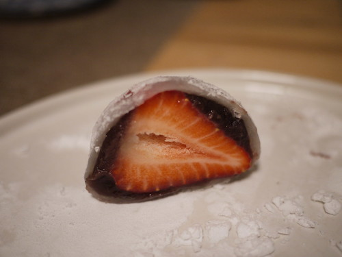Mochi Covered Strawberry