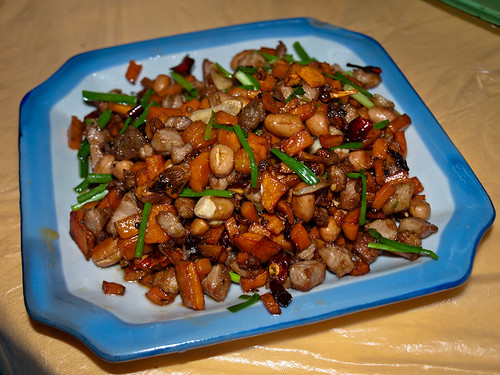 Comida china - cerdo kung pao