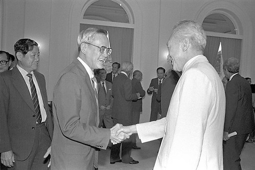 Yong Nyuk Lin and Lee Kuan Yew