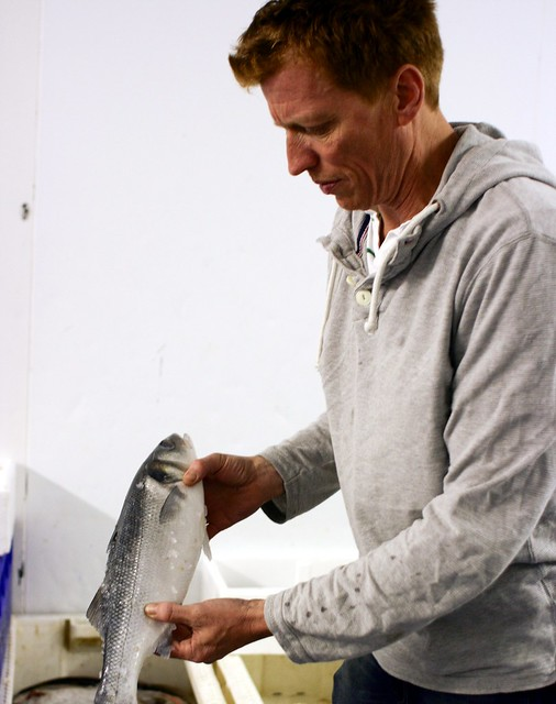 Tim Boyd, owner of New Wave Seafood