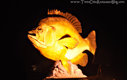 Giant Fish Sculpture at Fishtale Grill ~ New Prague, MN