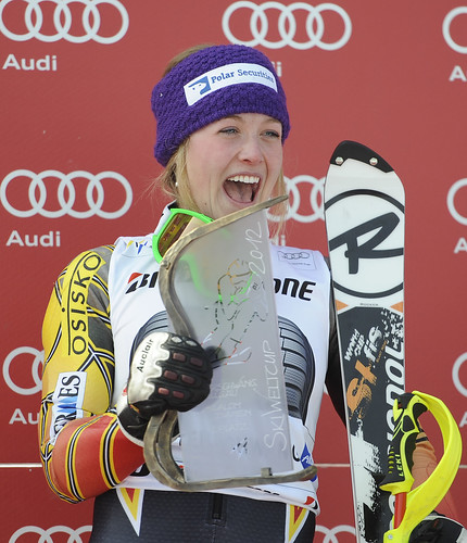 Erin Mielzynski becomes the first Canadian woman since Betsy Clifford in 1971 to win a World Cup slalom race.