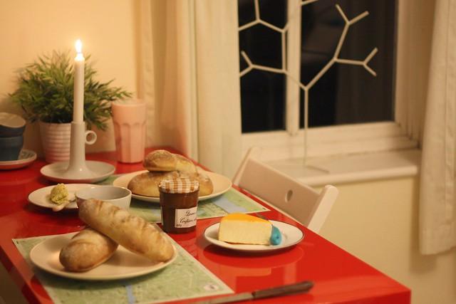Saturday night bread making