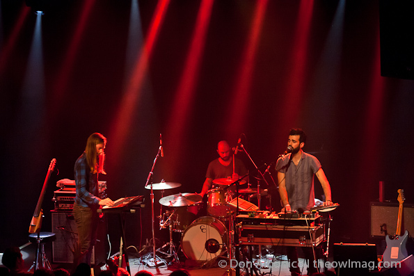 Miniature Tigers, Geographer @ The Independent, 3/3/2012