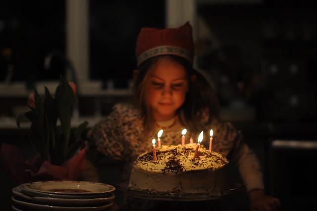On Larkspur's 6th birthday