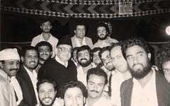 في إحدى الندوات - الباكستان - 1986