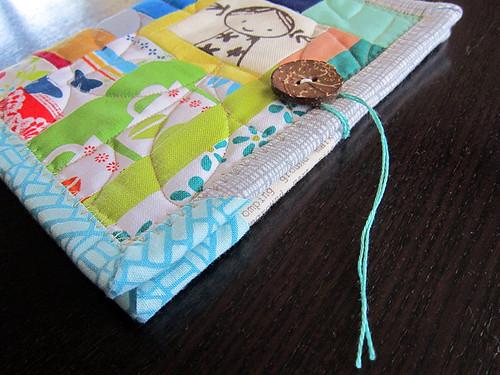 in binding scraps