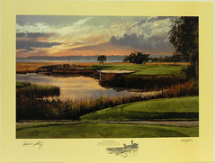 The 17th Hole, Harbour Town Golf Links, Hilton Head Island, SC by Diane Selby