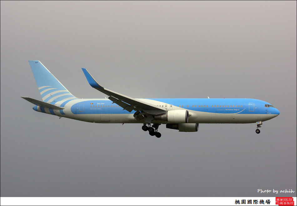 TUI Airlines Belgium OO-JAP客機001
