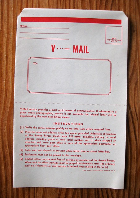 WWII V-mail